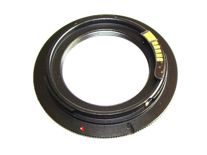 Адаптер M39-Canon EF с чипом