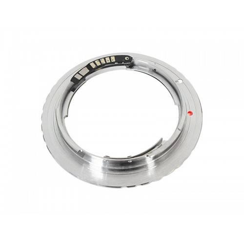 Адаптер оптики Contax/Yashica CY на Canon EF EOS с чипом